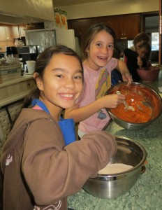 Pumpkin Pie Making